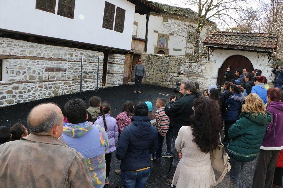 Oтварање реконструисан објект - Стара школа (1848) - Пројектни Развој туризма - Сурдулица и Правец
